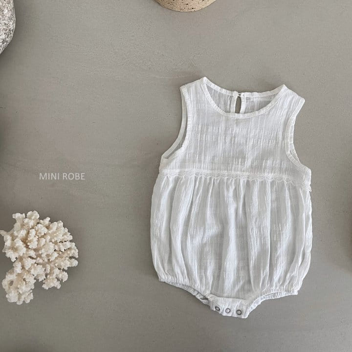 MINI ROBE - Korean Children Fashion - #Kfashion4kids - May Frill Bodysuit - 3