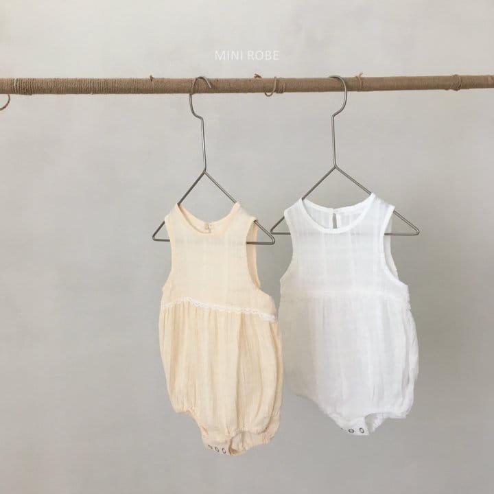 MINI ROBE - Korean Children Fashion - #Kfashion4kids - May Frill Bodysuit - 4