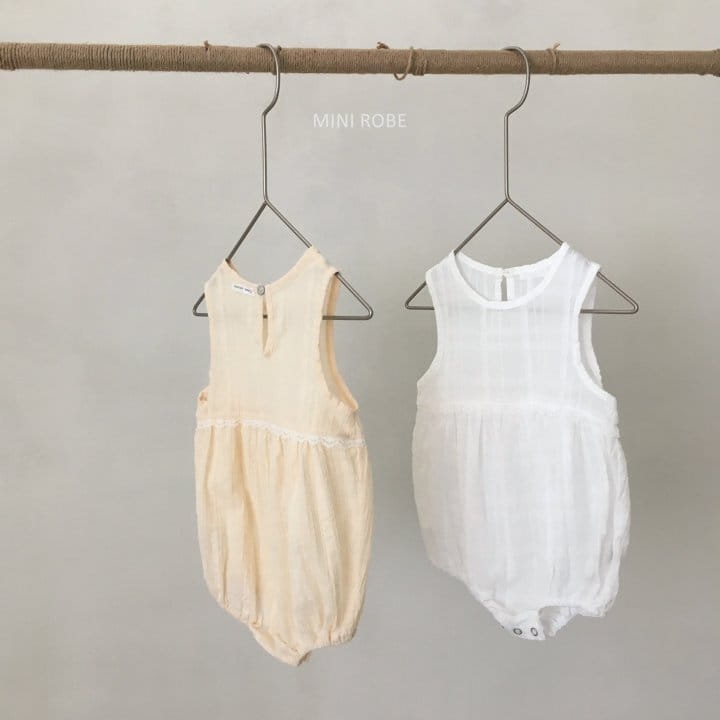 MINI ROBE - Korean Children Fashion - #Kfashion4kids - May Frill Bodysuit - 5