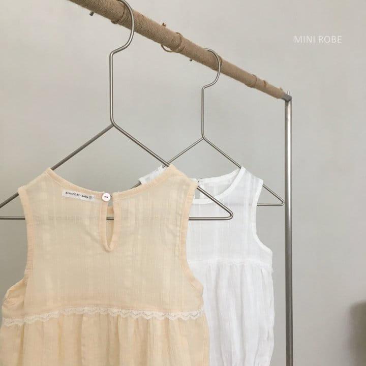 MINI ROBE - Korean Children Fashion - #Kfashion4kids - May Frill Bodysuit - 6