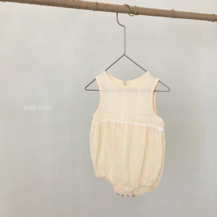 MINI ROBE - Korean Children Fashion - #Kfashion4kids - May Frill Bodysuit - 7