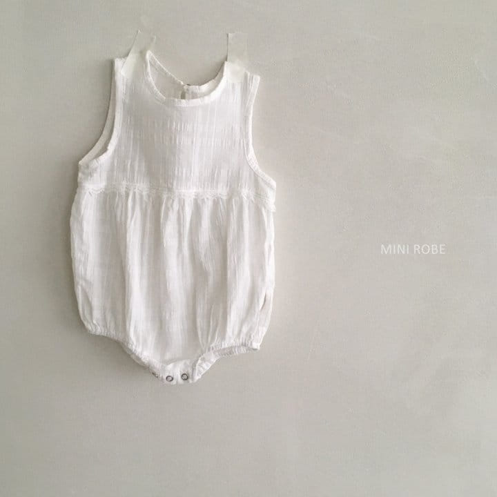 MINI ROBE - Korean Children Fashion - #Kfashion4kids - May Frill Bodysuit - 8