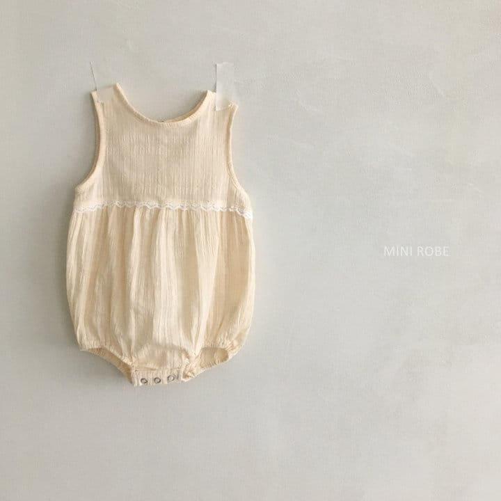MINI ROBE - Korean Children Fashion - #Kfashion4kids - May Frill Bodysuit - 9