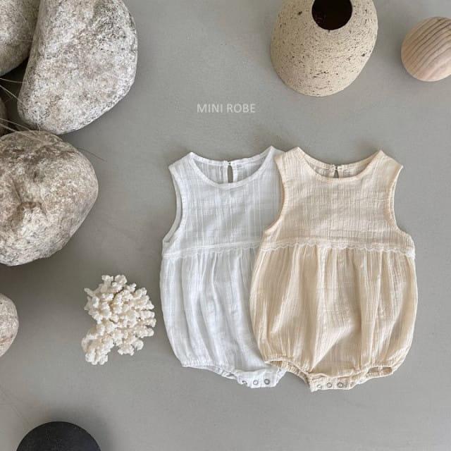MINI ROBE - BRAND - Korean Children Fashion - #Kfashion4kids - May Frill Bodysuit