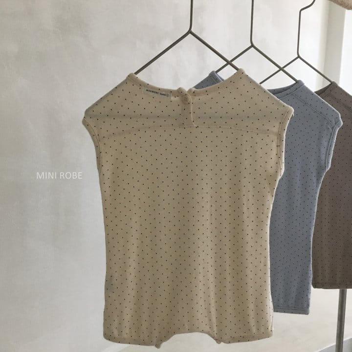 MINI ROBE - Korean Children Fashion - #Kfashion4kids - Dots Bodysuit - 5