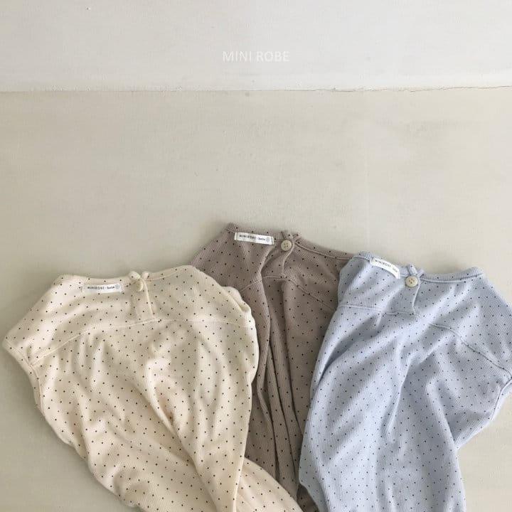 MINI ROBE - Korean Children Fashion - #Kfashion4kids - Dots Bodysuit - 7
