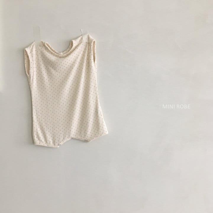 MINI ROBE - Korean Children Fashion - #Kfashion4kids - Dots Bodysuit - 8