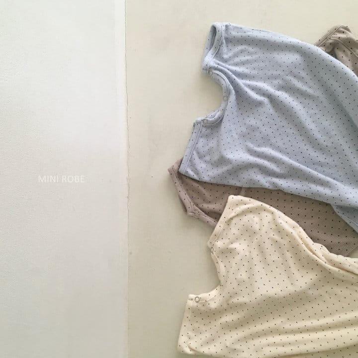MINI ROBE - Korean Children Fashion - #Kfashion4kids - Dots Bodysuit - 9