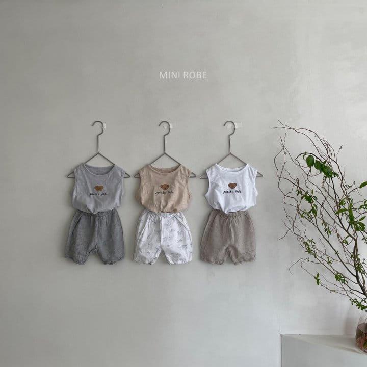 MINI ROBE - Korean Children Fashion - #Kfashion4kids - Teddy Bear Sleeveless - 4
