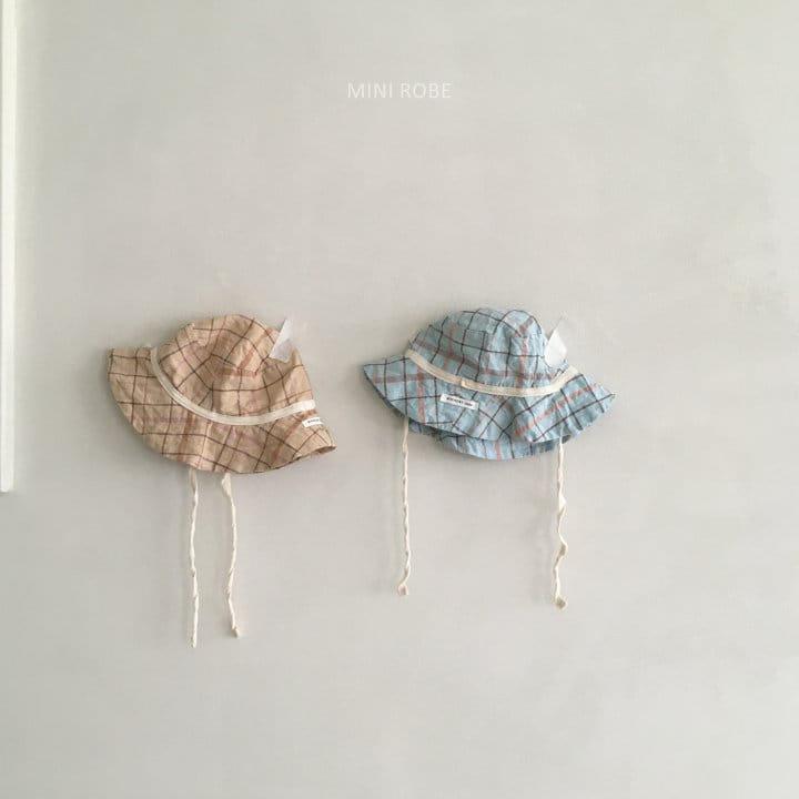 MINI ROBE - Korean Children Fashion - #Kfashion4kids - Check Bucket Hat - 4