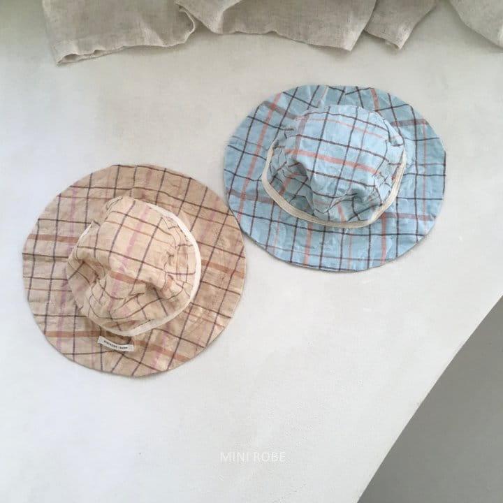MINI ROBE - Korean Children Fashion - #Kfashion4kids - Check Bucket Hat - 5