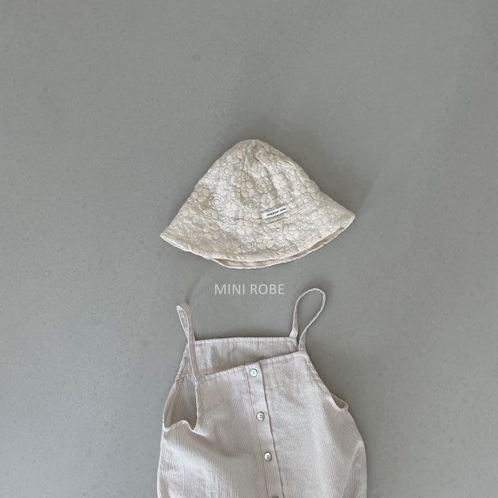 MINI ROBE - Korean Children Fashion - #Kfashion4kids - Emboridery Bucket Hat - 10
