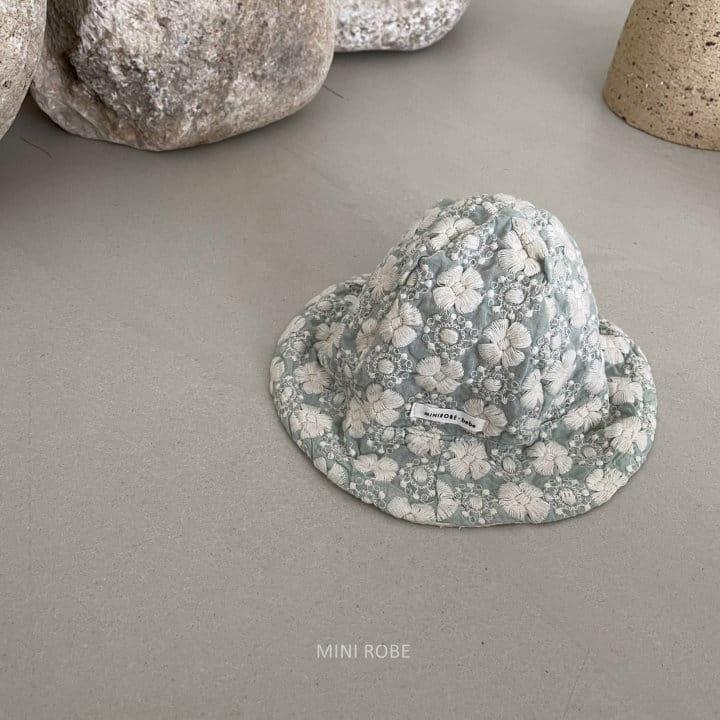 MINI ROBE - Korean Children Fashion - #Kfashion4kids - Emboridery Bucket Hat - 6