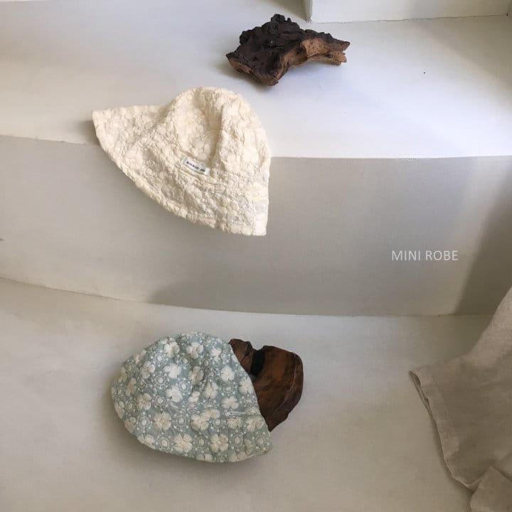 MINI ROBE - Korean Children Fashion - #Kfashion4kids - Emboridery Bucket Hat - 8