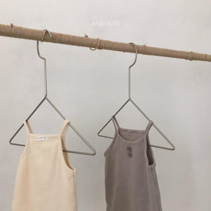 MINI ROBE - Korean Children Fashion - #Kfashion4kids - Waffle Bodysuit - 10