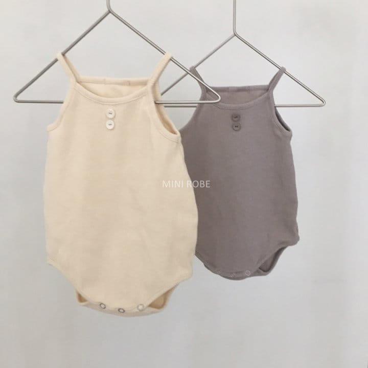 MINI ROBE - Korean Children Fashion - #Kfashion4kids - Waffle Bodysuit - 8
