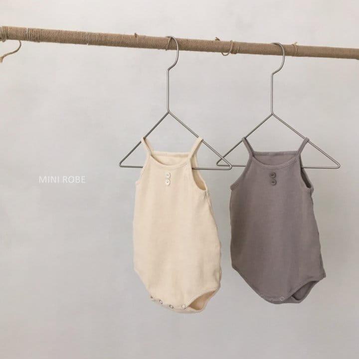 MINI ROBE - Korean Children Fashion - #Kfashion4kids - Waffle Bodysuit - 9