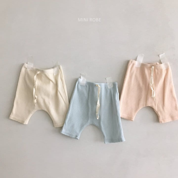 MINI ROBE - Korean Children Fashion - #Kfashion4kids - Waffle Leggings