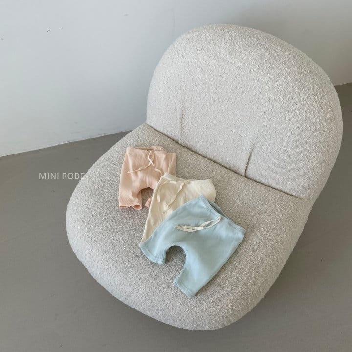 MINI ROBE - Korean Children Fashion - #Kfashion4kids - Waffle Leggings - 4
