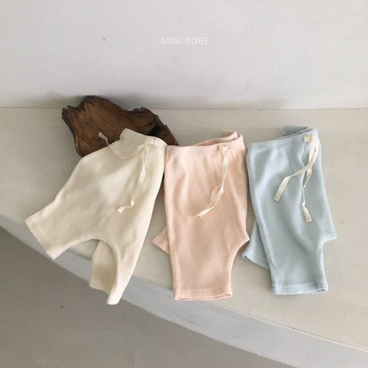 MINI ROBE - Korean Children Fashion - #Kfashion4kids - Waffle Leggings - 9