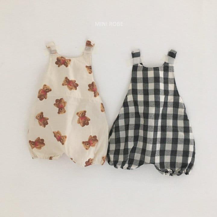 MINI ROBE - Korean Children Fashion - #Kfashion4kids - Summer Dungarees Bodysuit