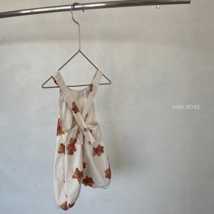 MINI ROBE - Korean Children Fashion - #Kfashion4kids - Summer Dungarees Bodysuit - 10