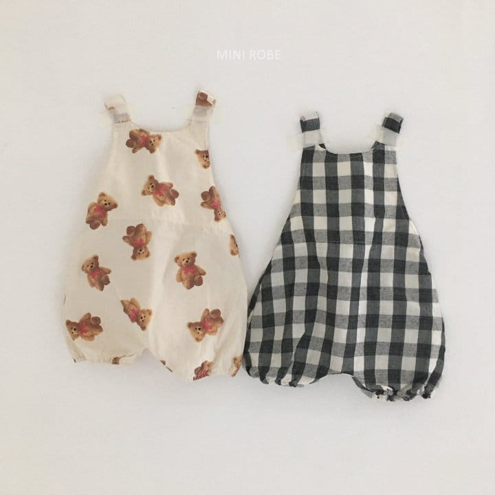MINI ROBE - Korean Children Fashion - #Kfashion4kids - Summer Dungarees Bodysuit - 11