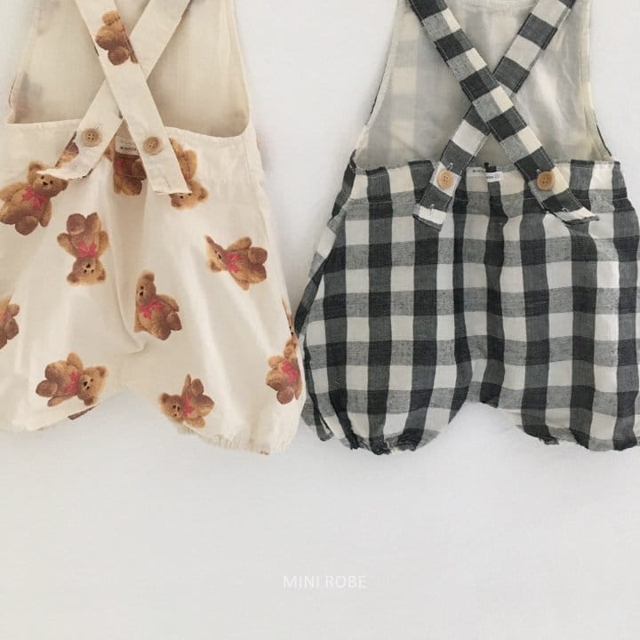MINI ROBE - Korean Children Fashion - #Kfashion4kids - Summer Dungarees Bodysuit - 12