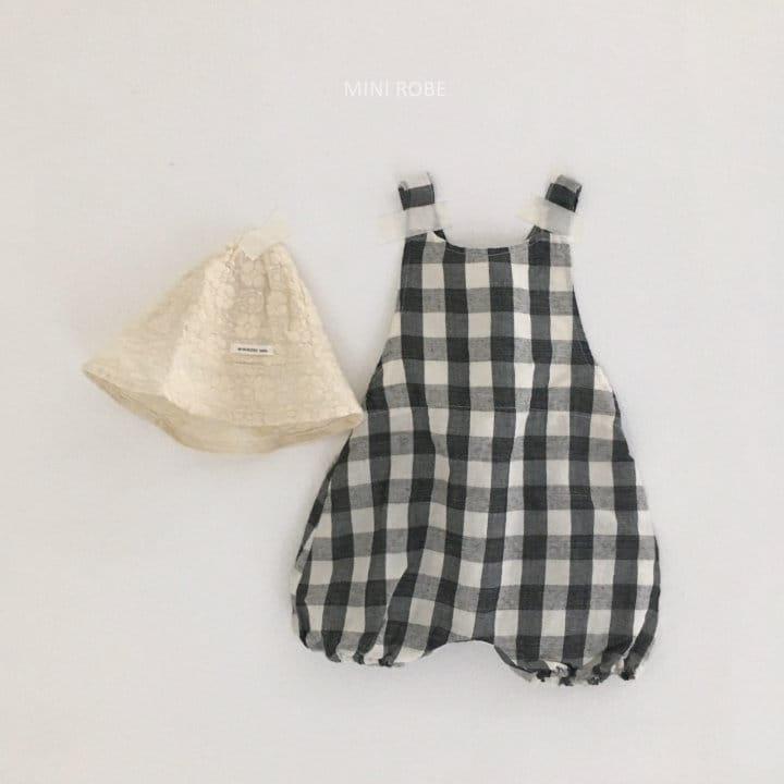 MINI ROBE - Korean Children Fashion - #Kfashion4kids - Summer Dungarees Bodysuit - 3