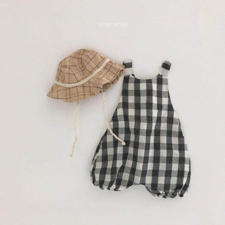 MINI ROBE - Korean Children Fashion - #Kfashion4kids - Summer Dungarees Bodysuit - 4