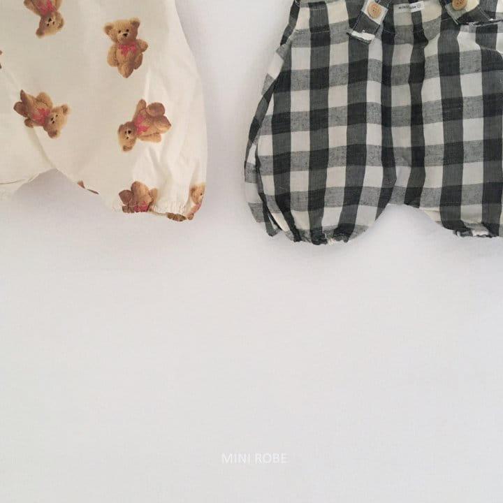 MINI ROBE - Korean Children Fashion - #Kfashion4kids - Summer Dungarees Bodysuit - 5