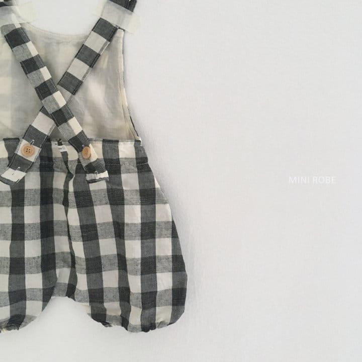 MINI ROBE - Korean Children Fashion - #Kfashion4kids - Summer Dungarees Bodysuit - 6