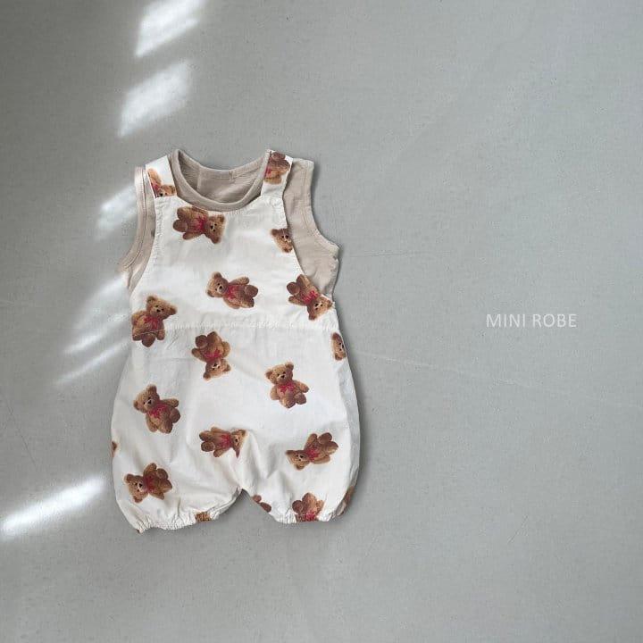 MINI ROBE - Korean Children Fashion - #Kfashion4kids - Summer Dungarees Bodysuit - 7