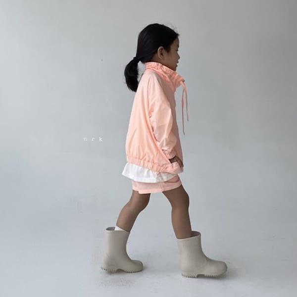 NRK - Korean Children Fashion - #Kfashion4kids - Crunch Zip-up Top Bottom Set - 5