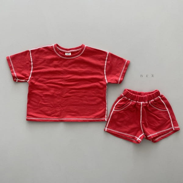 NRK - Korean Children Fashion - #Kfashion4kids - 88 Odd Top Bottom Set - 10
