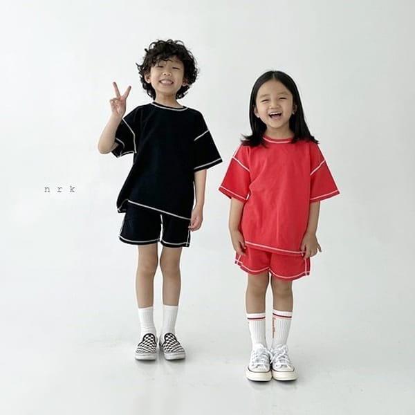 NRK - Korean Children Fashion - #Kfashion4kids - 88 Odd Top Bottom Set - 4