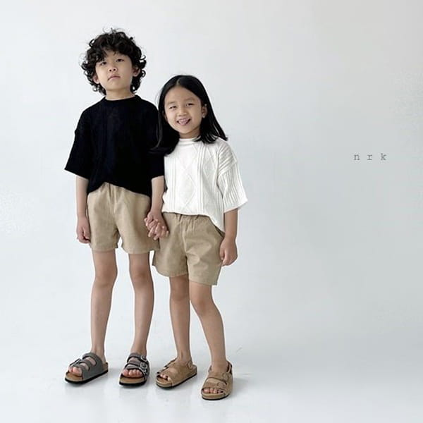 NRK - Korean Children Fashion - #Kfashion4kids - Cable Short Sleeves Knit - 12
