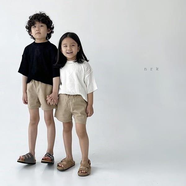 NRK - Korean Children Fashion - #Kfashion4kids - Cable Short Sleeves Knit - 2