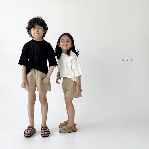 NRK - Korean Children Fashion - #Kfashion4kids - Cable Short Sleeves Knit - 5