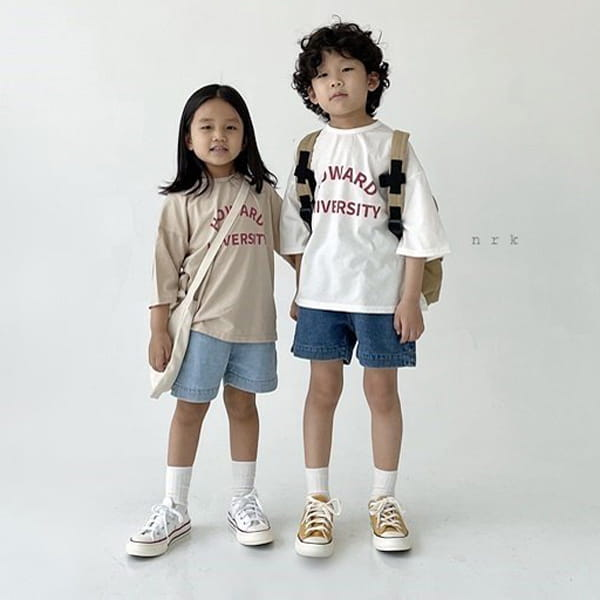NRK - Korean Children Fashion - #Kfashion4kids - Howard Boxy Tee - 4