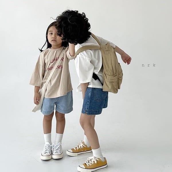 NRK - Korean Children Fashion - #Kfashion4kids - Howard Boxy Tee - 5