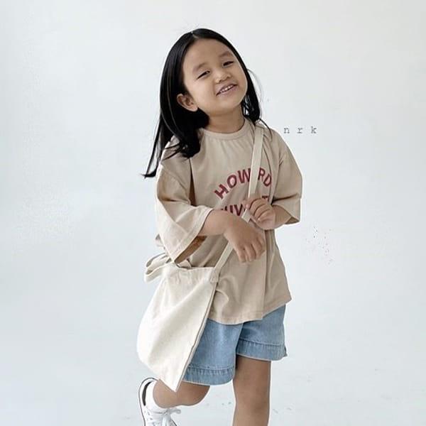NRK - Korean Children Fashion - #Kfashion4kids - Howard Boxy Tee - 6