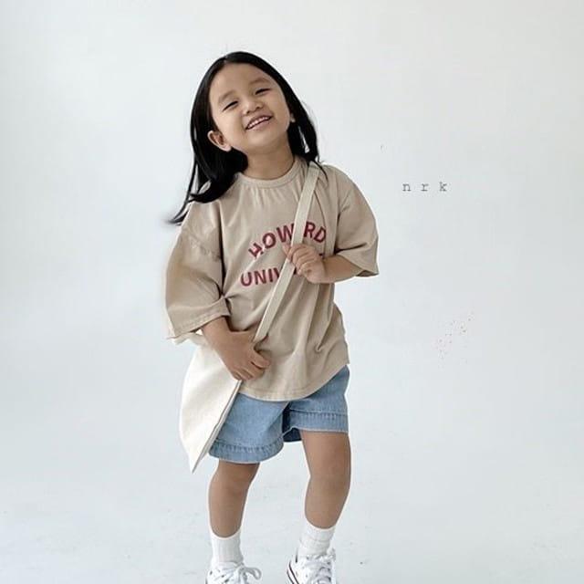 NRK - BRAND - Korean Children Fashion - #Kfashion4kids - Howard Boxy Tee