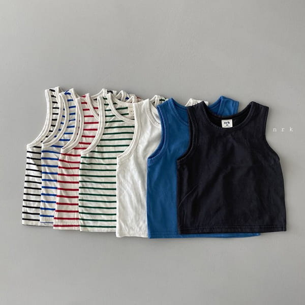 NRK - Korean Children Fashion - #Kfashion4kids - Daily Cotton Sleeveless - 10