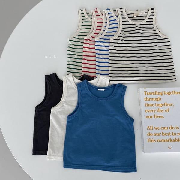 NRK - Korean Children Fashion - #Kfashion4kids - Daily Cotton Sleeveless - 2