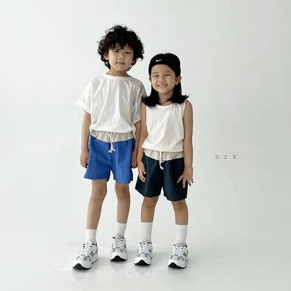 NRK - Korean Children Fashion - #Kfashion4kids - Daily Cotton Sleeveless - 3