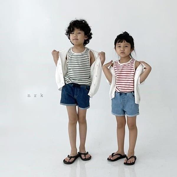 NRK - Korean Children Fashion - #Kfashion4kids - Daily Cotton Sleeveless - 5