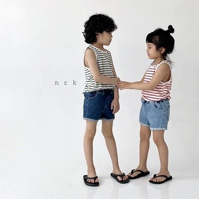 NRK - BRAND - Korean Children Fashion - #Kfashion4kids - Daily Cotton Sleeveless