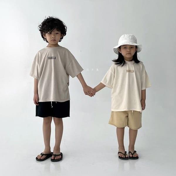 NRK - Korean Children Fashion - #Kfashion4kids - Vanilla Tee