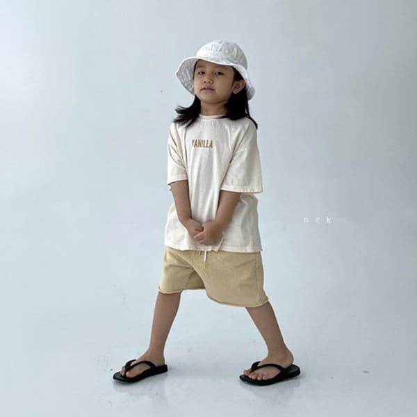 NRK - Korean Children Fashion - #Kfashion4kids - Vanilla Tee - 6